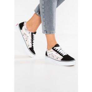 Vans Peanuts Old Skool - Chaussures de Sport Basse/Faible - Noir - Femme