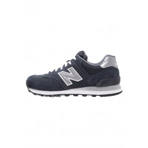 New Balance M574 - Chaussures de Sport Basse/Faible - Marin/Bleu Marin - Femme/Homme
