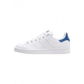 Adidas Originals Stan Smith - Chaussures de Sport Basse/Faible - Blanc/Bleu - Femme