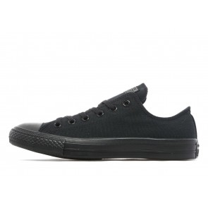 Converse All Star Ox Monochrome Homme Noir Chaussures de Fitness
