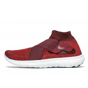 Nike Free Run Motion Flyknit 2 Homme Rouge Chaussures de Fitness