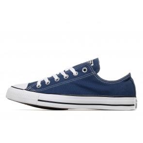 Converse All Star Ox Homme Bleu Chaussures de Fitness