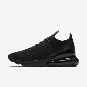 Chaussure de Fitness Nike Air Max 270 Flyknit Homme AO1023-005 Noir/Noir/Anthracite
