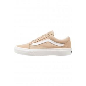 Vans Old Skool - Chaussures de Sport Basse/Faible - Kaki/Blanc - Femme/Homme