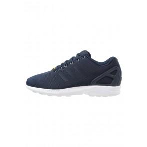 Adidas Originals ZX Flux - Chaussures de Sport Basse/Faible - Bleu Marin/Blanc - Femme/Homme