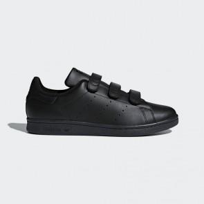 Original Chaussures en cuir - Adidas Stan Smith pour Femme - Noyau noir