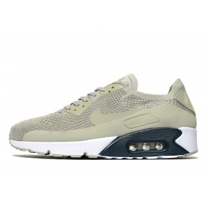 Nike Air Max 90 Flyknit 2.0 Homme Gris Chaussures de Fitness