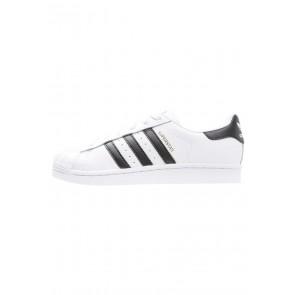 Adidas Originals Superstar - Chaussures de Sport Basse/Faible - Blanc/Noir Noyau - Femme