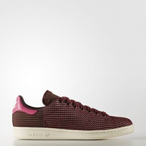 Originals Adidas Stan Smith Femme chaussures de fitness - Bourgogne/Rose