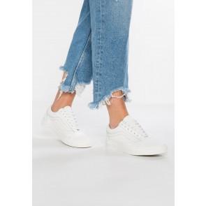 Vans Old Skool - Chaussures de Sport Basse/Faible - Blanc Pur/Blanc - Femme