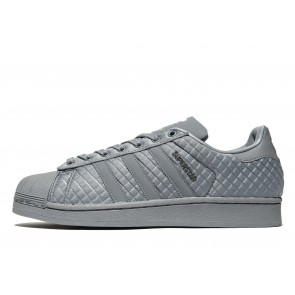 Adidas Originals Superstar Quilt Homme Gris Chaussures de Fitness