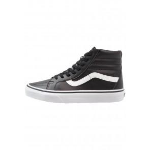 Vans SK8 Reissue - Chaussure de Running Haute/High - Noir/Obsidienne/Blanc Sommet - Femme/Homme