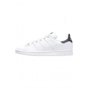 Adidas Originals Stan Smith - Chaussures de Sport Basse/Faible - Blanc/Bleu Marin - Femme/Homme