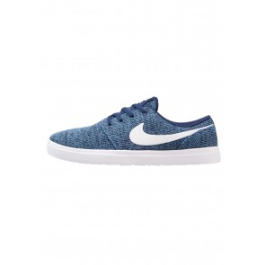Nike SB Portmore II Ultralight - Chaussures de Sport Basse/Faible - Bleu Royal/Blanc/Bleu Stern - Femme/Homme
