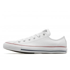 Converse All Star Ox Leather Homme Blanc Chaussures de Fitness