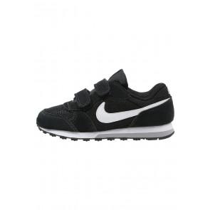 Nike Footwear MD Runner 2 - Chaussures de Sport Basse/Faible - Noir/Blanc/Gris Loup - Enfant