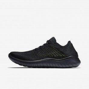 Chaussures de course 942838-002 Nike Free RN Flyknit 2018 pour homme noir/anthracite