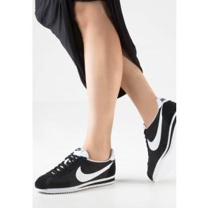 Nike Footwear Classic Cortez - Chaussures de Sport Basse/Faible - Noir/Blanc - Femme
