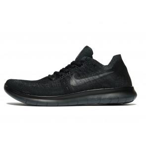 Nike Free RN Flyknit Homme Noir Chaussures de Fitness