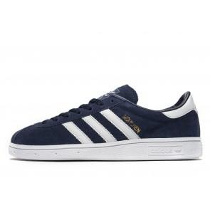 Adidas Originals Munchen Homme Bleu Chaussures de Fitness