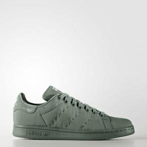 Adidas Originals Stan Smith - chaussures de course Basse/Faible - Bombers vert olive - Femme