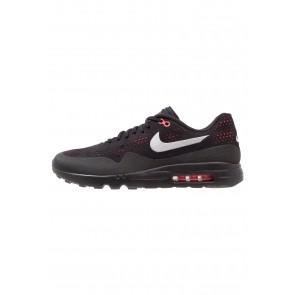 Nike Footwear Air Max 1 Ultra 2.0 Moire - Chaussures de Sport Basse/Faible - Noir/Gris Loup/Rouge Solaire - Homme
