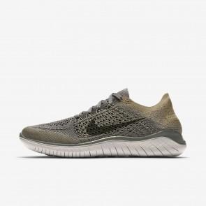 Femme chaussures de course 942839-003 Nike Free RN Flyknit 2018 stuc foncé/olive neutre/gris atmosphère/kaki cargo