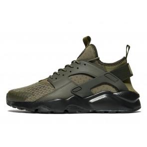 Nike Huarache Ultra Homme Vert Chaussures de Fitness