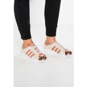 Adidas Originals Superstar 80S Metal Toe - Chaussures de Sport Basse/Faible - Brun/Blanc - Femme