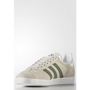 Adidas Originals Gazelle - Chaussures de Sport Basse/Faible - Gris/Jaune Sable - Femme