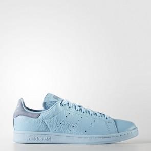 Femme Adidas Stan Smith chaussures de sport - Turquoise/océan bleu/Bleu clair