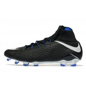 Nike Dark Lightning Hypervenom Phatal II FG Homme Noir Chaussures de Fitness