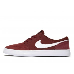 Nike SB Solarsoft II Portmore Homme Rouge Chaussures de Fitness