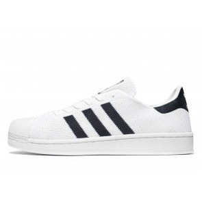 Adidas Originals Superstar Mesh Homme Blanc Chaussures de Fitness