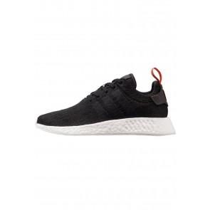 Adidas Originals NMD_R2 - Chaussures de Sport Basse/Faible - Noir Noyau/Future Récolte - Femme/Homme