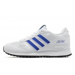 Adidas Originals ZX 750 Homme Blanc Chaussures de Fitness