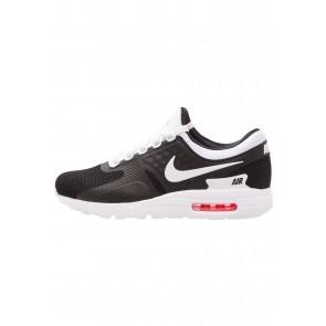 Nike Footwear Air Max Essential - Chaussures de Sport Basse/Faible - Noir/Blanc/Rouge Solaire - Homme