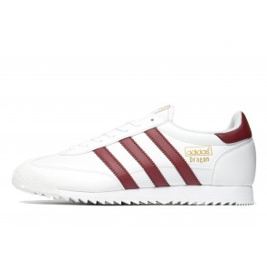 Adidas Originals Dragon Leather Homme Blanc Chaussures de Fitness