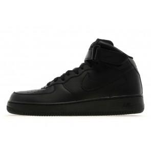 Nike Air Force 1 Mid Homme Noir Chaussures de Fitness