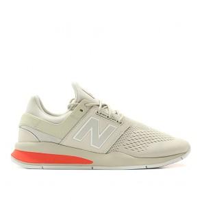 New Balance MS247 TN Homme Lumière Gris/Rouge 656911-60-12 Chaussures de Fitness