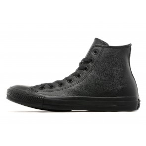 Converse Baskets Montantes All Star Hi Leather Mono Homme Noir Chaussures de Fitness