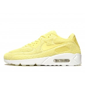 Nike Air Max 90 Ultra 2.0 Breathe Homme Jaune Chaussures de Fitness
