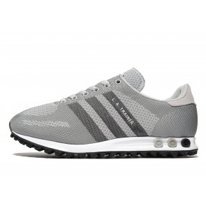 Adidas Originals LA Trainer Weave Homme Gris Chaussures de Fitness
