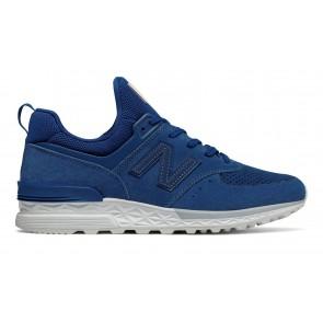 Chaussures pour homme New Balance 574 Sport Atlantic with white bleu foncé/blanche
