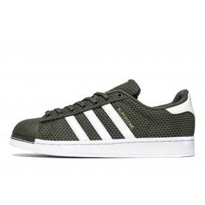 Adidas Originals Superstar Knit Homme Vert Chaussures de Fitness