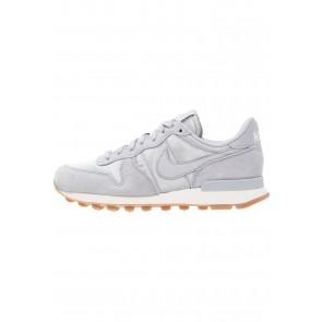 Nike Footwear Internationalist - Chaussures de Sport Basse/Faible - Gris Loup/Gris Neutre - Femme