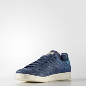 Hommes Originals chaussure de sport Adidas Stan Smith - bleu/bleu foncé Beige