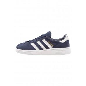Adidas Originals Munchen - Chaussures de Sport Basse/Faible - Rose Légende/Gris/Or Métallisé - Femme/Homme