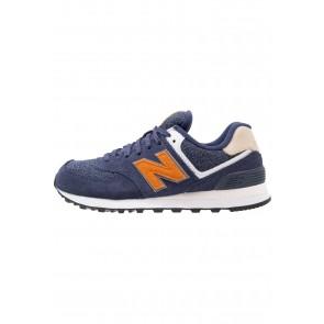 New Balance ML574 - Chaussures de Sport Basse/Faible - Bleu - Femme/Homme
