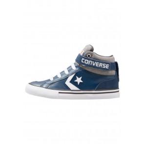 Converse Pro Blaze Strap - Chaussure de Running Haute/High - Marin/Bleu Marin/Blanc - Enfant
